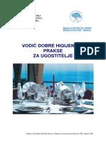 Vodic Dobre Higijenske Prakse PDF 1 6