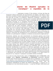 Operación Canalejas, notas de prensa