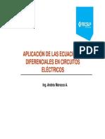 Clase 10 Aplicacion ED en Cktos Electricos Parte 1 2014_2
