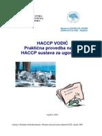 Haccp Vodic Za Ugostitelje PDF 1 6
