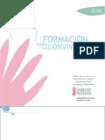 Formación para la convivencia. Guia para primaria. Generalitat Valenciana