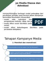 Kampanye Media Massa Dan Advokasi