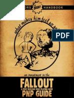 Fallout PnP - Operator's Handbook