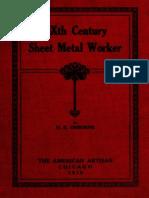 12. a Modern Treatise on Modern Sheet Metal Work