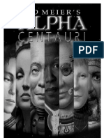 Sid Meier's Alpha Centauri Manual