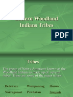 woodland indians tribes
