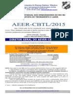 Regulamento Aeer Cbtl 2015