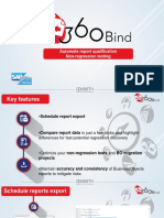 360Bind Automate SAP BusinessObjects regression testing