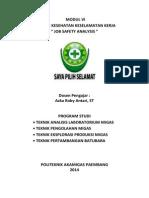 Modul 6 Praktek K3 ; Job Safety Analysis (JSA)