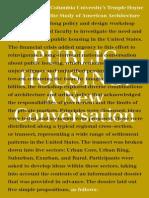 Public Housing a New Conversation