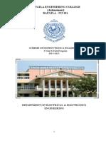 Scheme of Instruction 2014-15