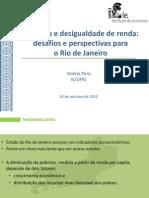 Apresentação da UFRJ sobre as perspectivas econômicas para 2016