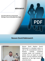 Nosson Dovid Rabinowich - Academics & Career
