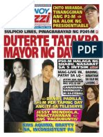 Pinoy Parazzi Vol 8 Issue 126 October 16 - 18, 2015