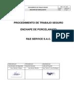 Proc de Trabajo de Porcelanato Re Service Sac - Ok