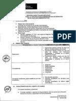 CONVOCATORIA N° 332-2015-MTC-10.07
