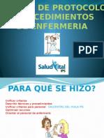 A grooso modo Protocolo y Manual de Enfermeria