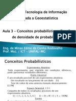 Funçao Densidade de Probabilidade - Geoestatistíca