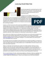 Websiteontwerp verzekering World Wide Web