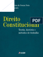 Cláudio P. S. Neto e Daniel Sarmento - Direito Constitucional Teoria História e Metódos de Trabalho - Ano 2012 - PDF