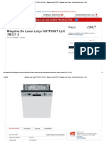 Máquina de Lavar Loiça HOTPOINT LLK 7M121 X - Máquinas Loiça HOTPOINT - Máquinas Loiça - Encastre - Grandes Eletrodomésticos - Início