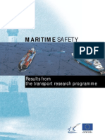 Maritime Safety - Result From the Transport Research Program
