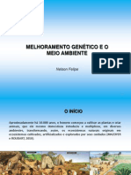 Melhoramento Genetico e Meio Ambiente