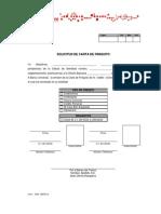 Solicitud de Carta de Finiquito - Banco Del Tesoro - Notilogía
