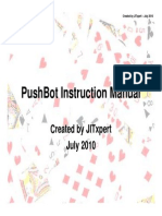 PushBot Instruction Manual 1.1