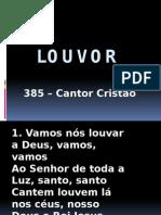 385 CC - Louvor