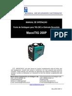 Manual MaxxiTIG 200P Ver3 2015 4