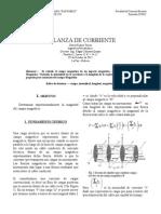Lab 8 Balanza de Corriente