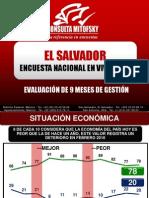 EVALUACIÓN DE 9 MESES DE GESTIÓN