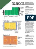 sports photography cheat sheet