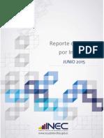 Informe Pobreza y Desigualdad Junio15