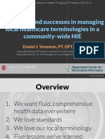 2015 10 - Challenges and Successes in Managing Local Healthcare Terminologies in a Community-wide HIE