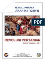Modul Jawapan Sejarah k3 Revolusi Pertanian