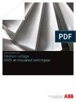 MV Air Insultated Switchgear Technical Guide 1VAL1002-TG Rev A