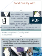 Measuring Food Quality With Instrument