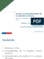 presentación Costos y Competitividad de La Industria Minera