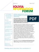BIF Bulletin Special Edition on Extractive Industries, March 2013