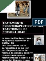 Tratamiento Psicoterapeutico Para Los t. de La Personalidad