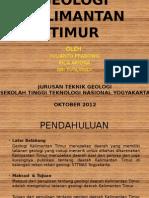 Geologi Kalimantan Timur