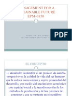 Management for a Sustainable Future Epm 6850