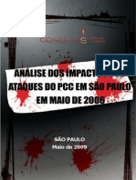 Crimes de Maio. Conectas