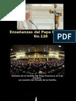 Enseñanzas Del Papa Francisco - Nº 128