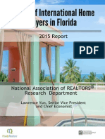 2015 Profile of International Home Buying Activity in Florida