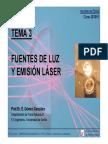 Fuentes de Luz y Emision Laser