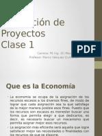 Evaluación de Proyectos Clase 1