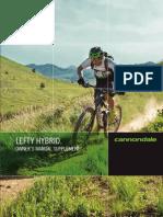 Cannondale Lefty Fork User Manual